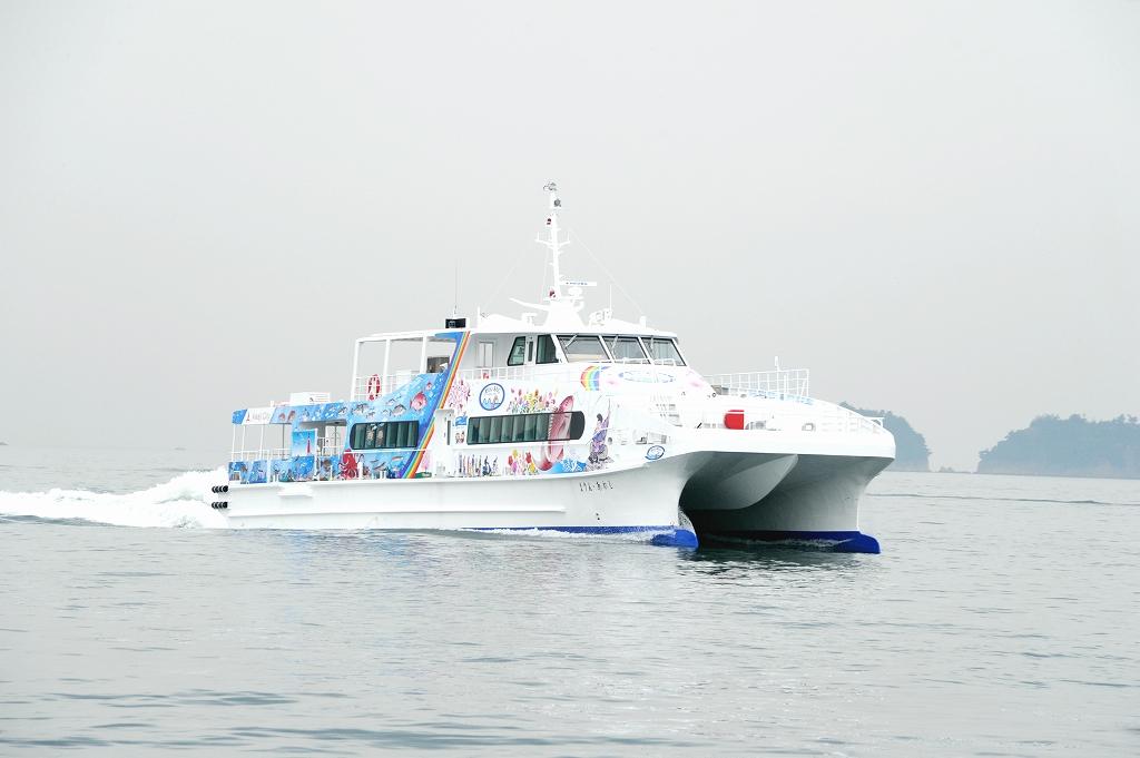 明石海峡航路新船舶「まりん・あわじ」