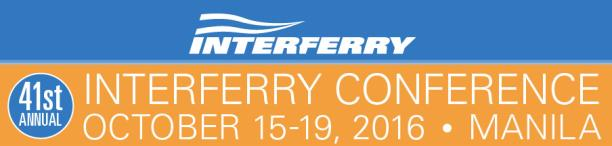 41st ANNUAL INTERFERRY CONFERENCE
