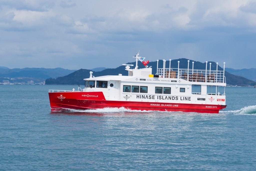 ツネイシクラフト&ファシリティーズ 備前市定期船「のりなはーれ」竣工・引渡 ~ 世代を超えて瀬戸内海の短くも楽しい旅を~