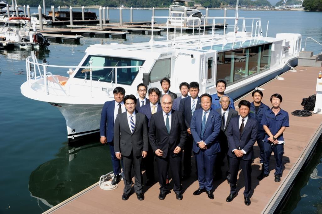 ツネイシクラフト&ファシリティーズ  旅客船「SEA BASS ACE」引渡